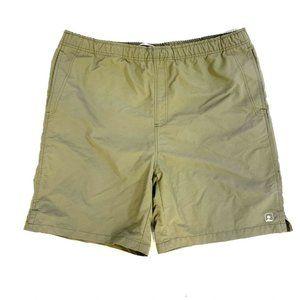 Eastern Mountain Sports Nylon Hiking Shorts Green